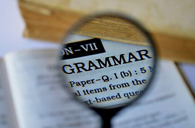 Jangan sampai mengabaikan grammar dasar, pelajari dulu ilmu dasarnya