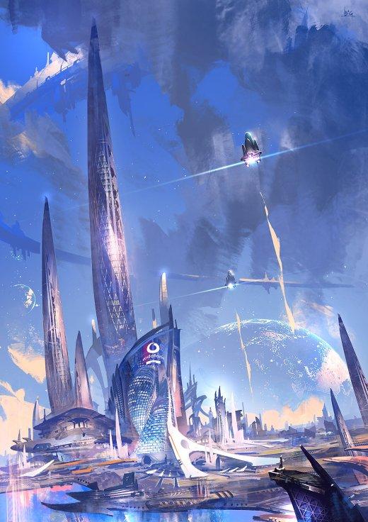 Bigball Gao artstation arte ilustrações ficção games