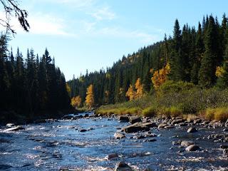 Rivière Montmorency - Québec - Canada