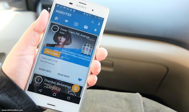 Booking Online Irwan Team di Minutes App