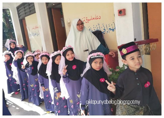 Kumpulan nasyid kakak Damia, wakil PASTI daerah Kuala Langat wakil ke peringkat negeri Selangor.