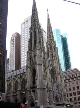 Catedral de Saint Patrick en Nueva York