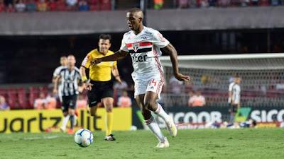 Toró entrou bem em São Paulo x Botafogo (Foto: Marcos Ribolli)
