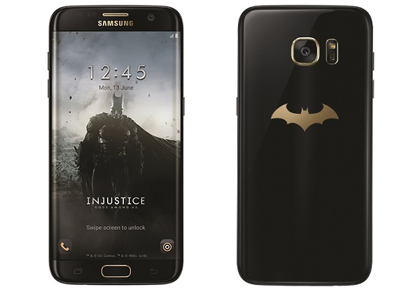SAMSUNG launches Batman-themed Galaxy S7 edge Injustice Edition