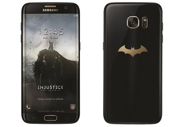 SAMSUNG launches Batman-themed Galaxy S7 edge Injustice Edition