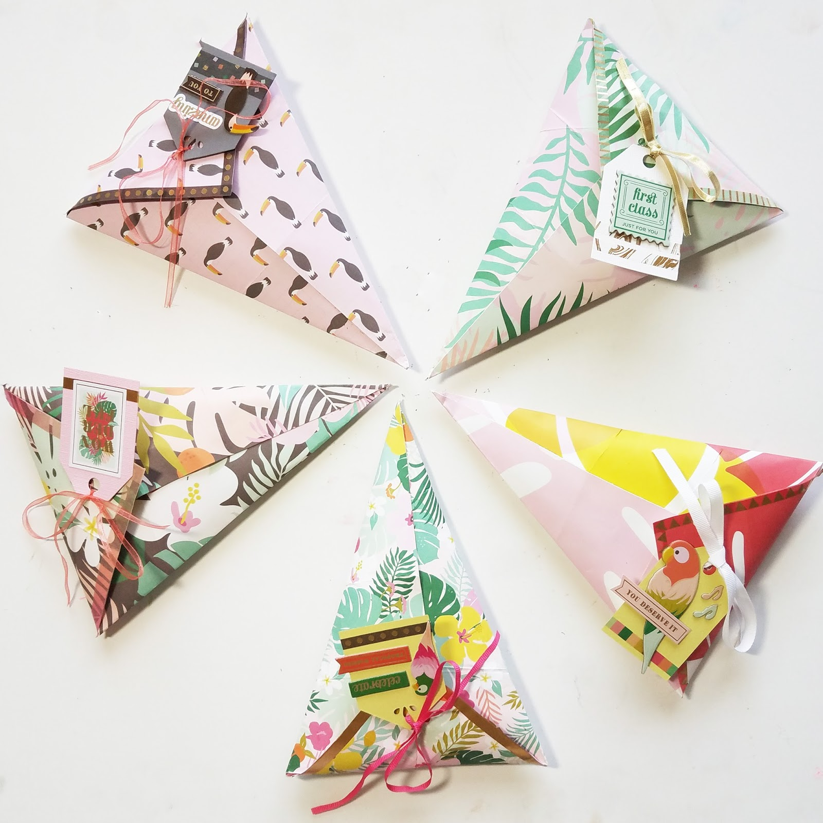 Erin Reed Makes Diy Folded Cone Treat Bags For Party Favors