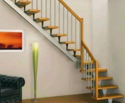 gambar tangga kayu minimalis