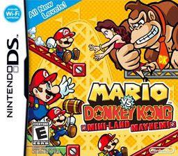 Mario vs. Donkey Kong: Mini-Land Mayhem, Nds, Español