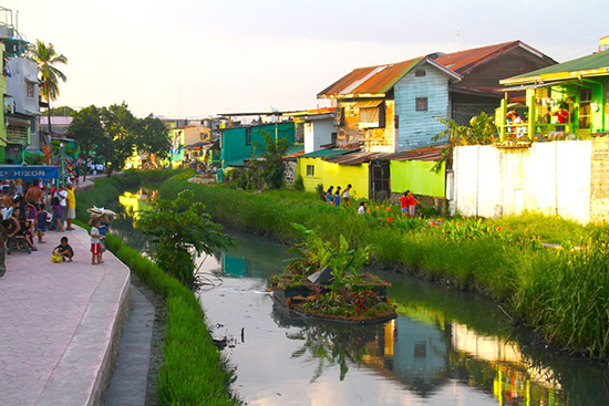 kanal kota setelah di bioremediasi