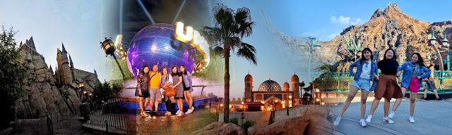 Universal Studios Japan, Osaka x Tokyo DisneySea x Rizza Salas