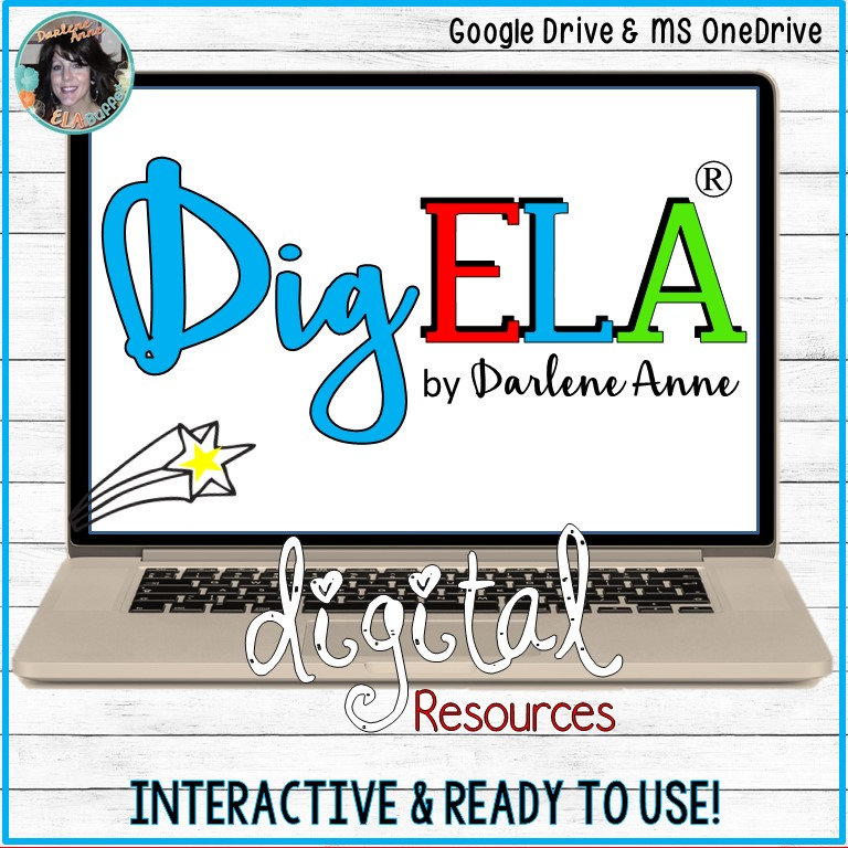 Digital ELA resources from DigELA are fun, organized, and easy to use!