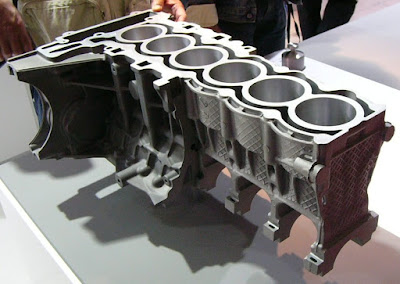 BMW 6 cylinder block Al-Mg