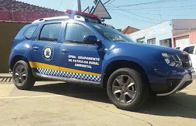 GCM de São Carlos ganha veículo SUV para patrulhamento rural