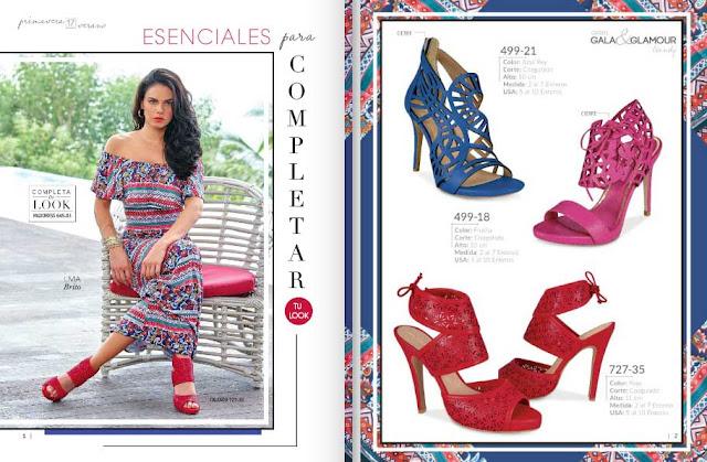 Catalogo zapatos Cklass Gala y Glamour  moda 2018 Fiesta