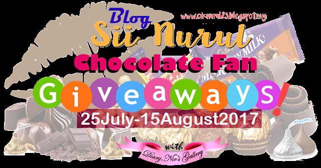 Chocolate Fan Giveaways by Sii Nurul