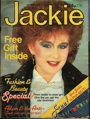 Jackie Magazine 1982 - big hair and bold make-up