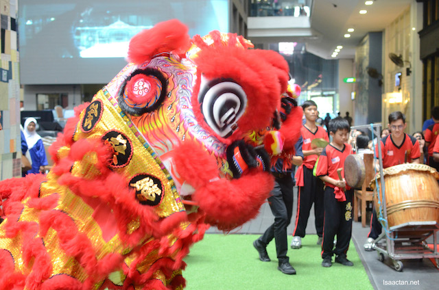 Lion dances and all