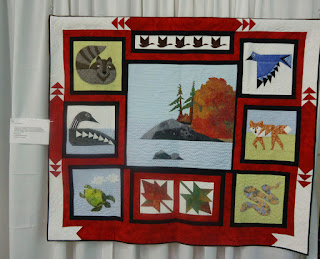 Canada 150 Quilt by the Lanark County Quilters Guild