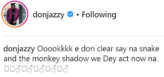See How Don Jazzy Reacted To Reports Of Monkeys Carting Away N70 Million From A Farm
