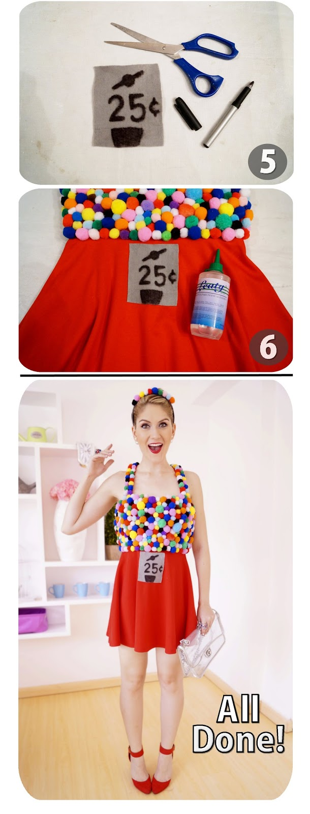 fashion gum machine