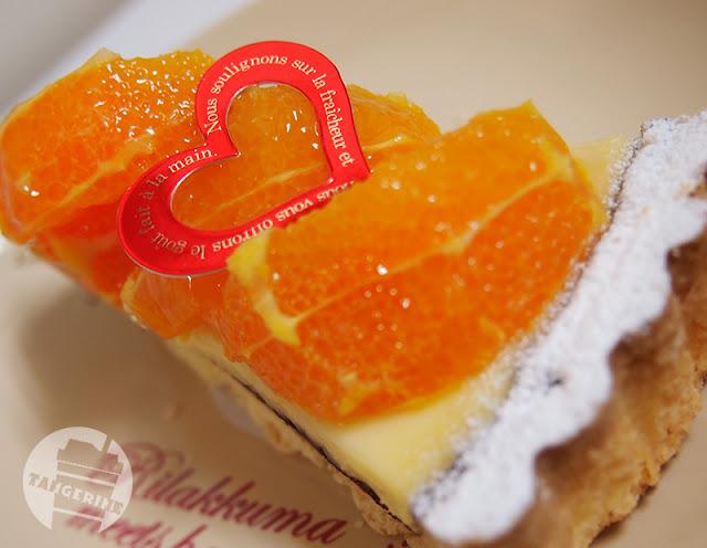 オレンジのケーキ(巣鴨タカギヤ)