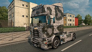 Scania RJL Leopard skin