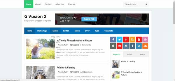 free-blogger-themes