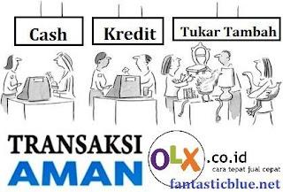 Transaksi Aman Jual Beli di Olx
