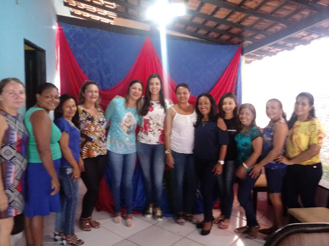 Pré-candidata Daniella Tema visita grupo político de oposição da cidade de Fortuna.