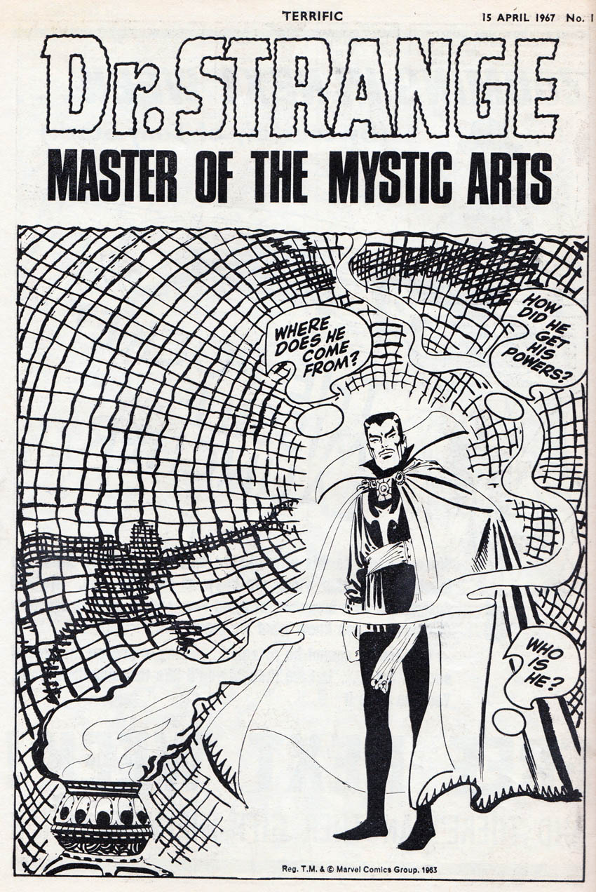 BLIMEY! The Blog of British Comics: 50 Year Flashback: TERRIFIC No 1