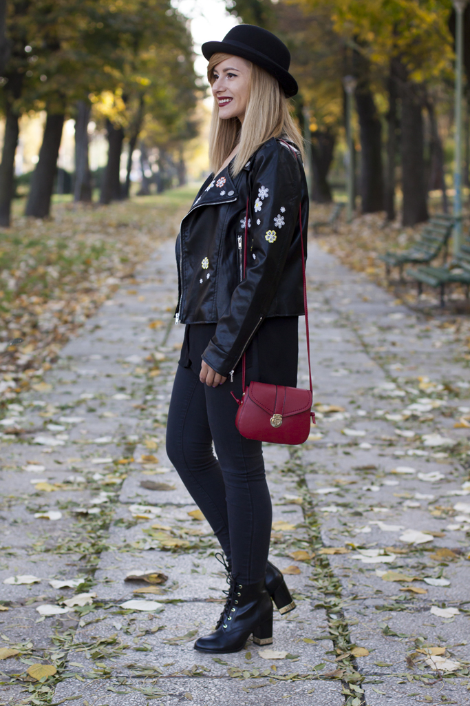 zaful red bag