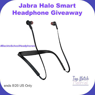 Enter the Jabra Halo Smart Headphone Giveaway. Ends 8/20
