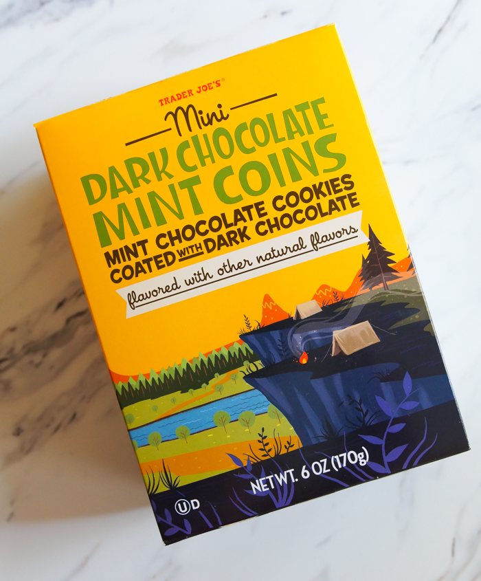 Trader Joe's review : Mini Dark Chocolate Mint Coins >>> part of a weekly-ish review series from bakeat350.net