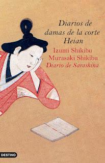 Diarios de damas de la corte Heian Izumi Shikibu Murasaki Shikibu Sarashina