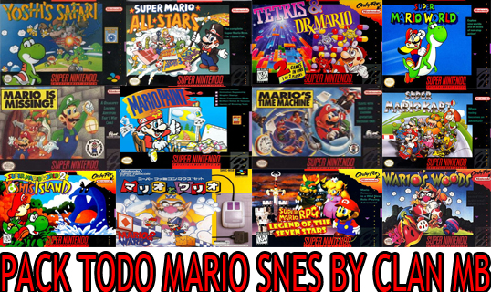 Pack Todo Los Juegos De Mario En Snes[1 Link] | CLAN MB