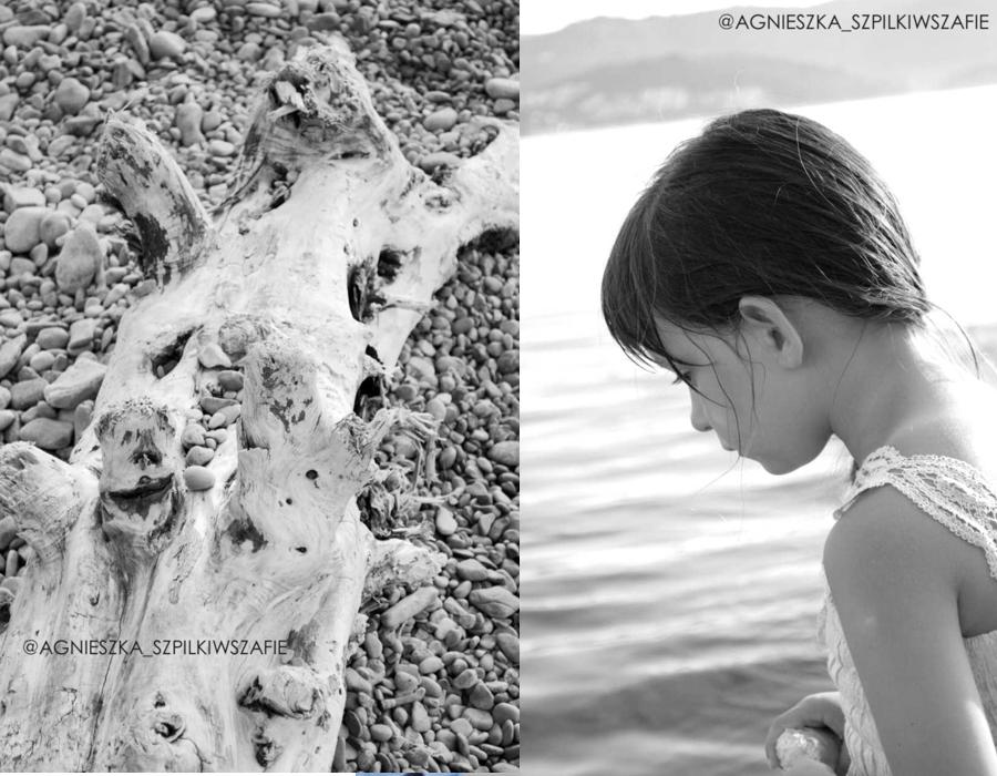 szpilkiwszafie.blogspot.com, wakacje nad morzem, kamyczki