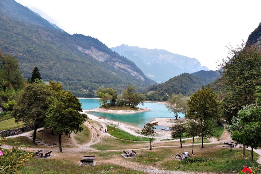 majówka, majówka we Włoszech, jezioro Tenno, Canale di Tenno, Torbole, Riva del Garda
