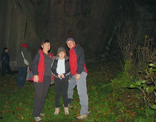 Diabli Kamień koło Szczyrzyca.