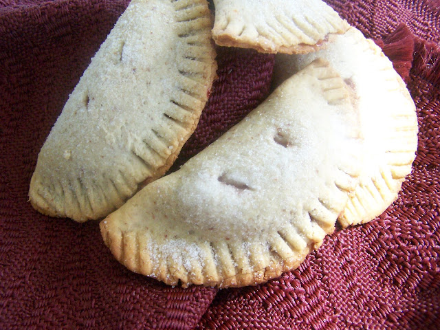 Skinny Gluten Free Fruit Turnovers, sugar free