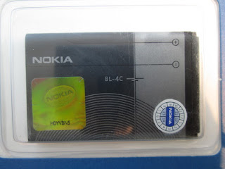 baterai Nokia BL-4C original packing