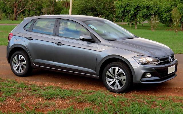 VW Polo - 5º carro mais vendido do Brasil - março de 2018