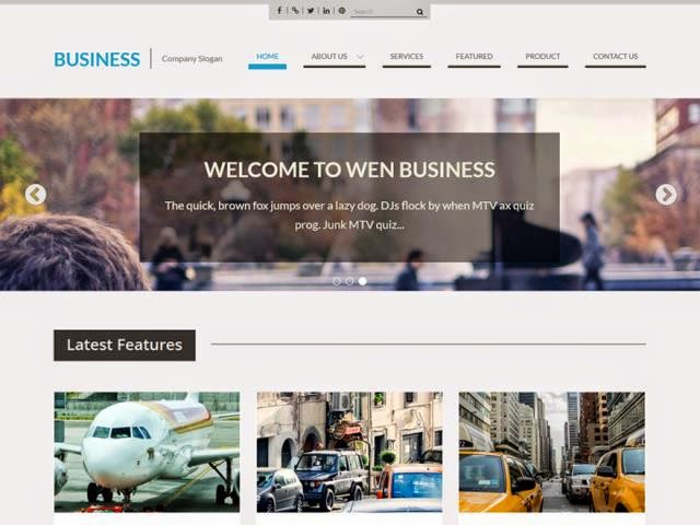 WEN Business Responsive WordPress Theme