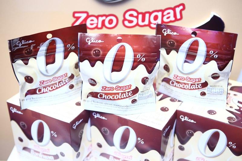 กูลิโกะ ซีโร่ ชูการ์ ช็อกโกแลต เฟลเวอร์ (Glico Zero Sugar Chocolate)
