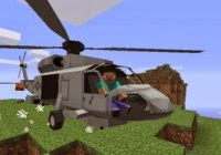 MCHelicopter Minecraft Hile MC Helicopter Mod 1.7.2/1.7.6