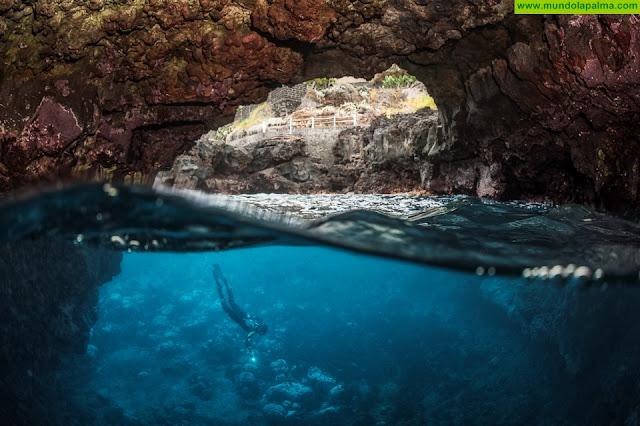 El I Open de Fotografía Submarina 'Costa de San Andrés y Sauces' se estrena como referente de los deportistas al final del verano