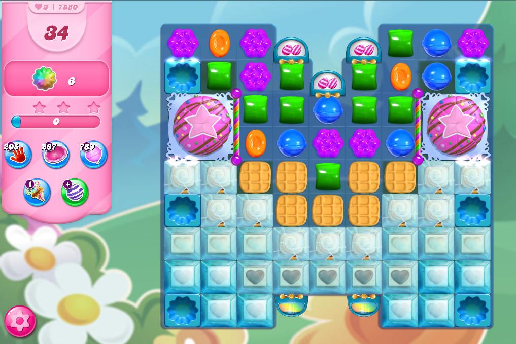 Candy Crush Saga level 7380