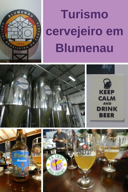 Turismo cervejeiro na Capital Nacional da Cerveja - Blumenau!