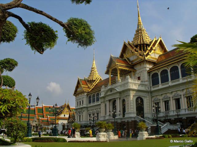 Palacio Real. Bangkok, Tailandia.