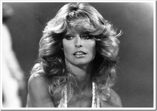 Corte de cabelo anos 70