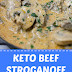 Keto Beef Stroganoff (Low Carb Keto Meal)